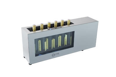 Elektrický chladič na víno CV-7-CA INOX - 1