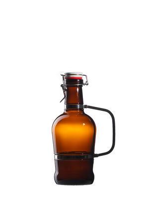 Pivní lahev Tradition 2l s Alu uchem - s uzávěrem - 1