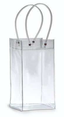 Ice bag taštička na víno transparentní  - 1