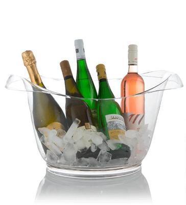 Chladící nádoba na víno Albatros bowl transparentn - 2
