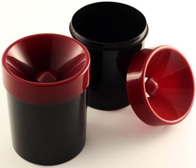 Plastové plivátko 1 l bordó - 2