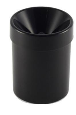 Plastové plivátko 1 l černé - 2
