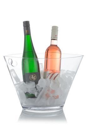 Chladící nádoba na víno Uno2Uno transparentní - 2