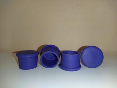 Silikonové uzávěry na lahve fialové - 2