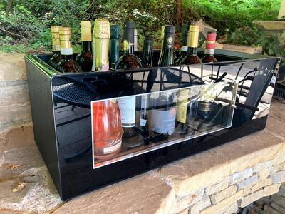 Elektrický chladič na víno na 8 až 16 lahví - 2