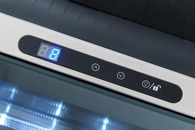 Elektrický chladič na víno CV-7-CA INOX - 2