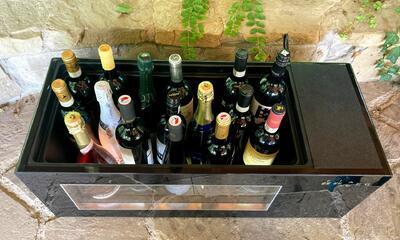 Elektrický chladič na víno na 8 až 16 lahví - 3