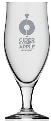 Pivní sklenice na stopce Aviero 0,5 cejch - 3