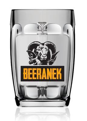 Pivní sklenice Moravia 0,3 - 3