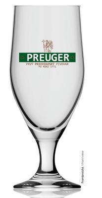 Pivní sklenice na stopce Aviero 0,3 cejch - 4
