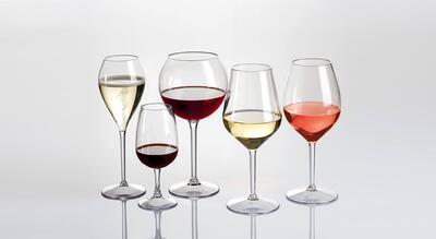 Nerozbitná sklenice na víno CLUBHOUSE - 4