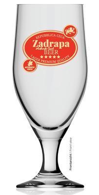 Pivní sklenice na stopce Aviero 0,3 cejch - 5
