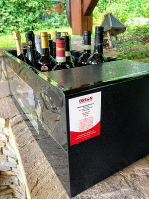 Elektrický chladič na víno na 8 až 16 lahví - 5